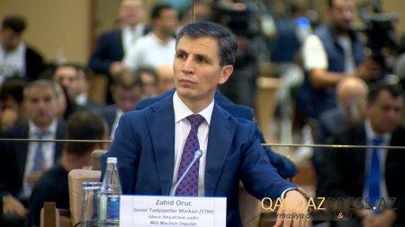 """Zahid Oruc: """"Qızıl amnistiya"""" qərarı cənab Prezidentin kompetensiyasıdır"""