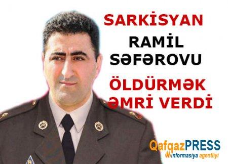 Ramil Səfərovun atası danışdı